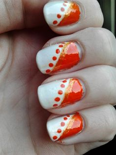 Nailartby Danielle & Linda: Koningsdag nail art