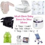 Must-have baby items for moms