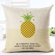 Housse Coussin Be a Pineapple