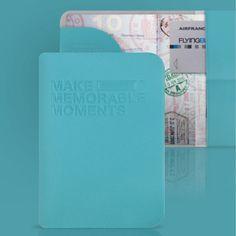 Protège passeport bleu Alife