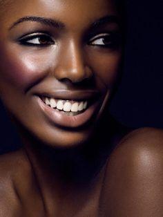 .Beautiful chocolate skin