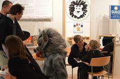 Hirmuinen susi ei kaipaa kasvomaalausta. Luuppi, Oulu (Finland)