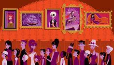 Shag Art - Haunted Mansion