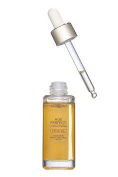 L'Oréal Paris Age Perfect Hydra-Nutrition Facial Oil SPF 30, $19.99; lorealparisusa.com