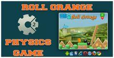 cool Roll Orange HTML5 Physics Recreation (Video games)