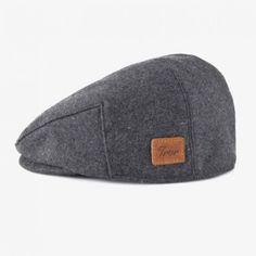 Grey Hunting Cap by TRVR   MONOQI