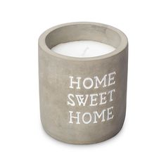 Concrete Filled Candle