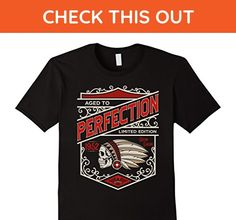 Mens Vintage Made In 1952 Birthday Gift T-Shirt Chief 3XL Black - Birthday shirts (*Amazon Partner-Link)
