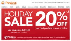 20 off a single item all year at h coupon via the coupons app do 20 off at payless shoesource or online via promo code 87468 coupon via the coupons app fandeluxe Choice Image
