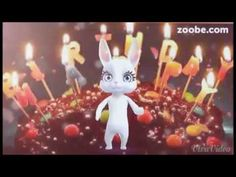 Geburtstag...Alles Gute, Happy Birthday ;-) Zoobe, Animation