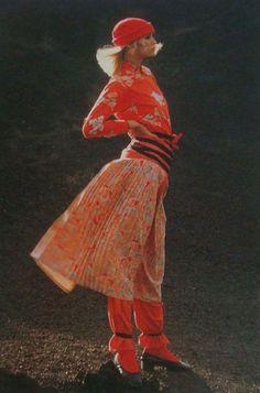 Kenzo. Spring/summer 1975