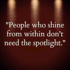 """""""People who shine from within don't need the spotlight!"""" #dancelife #pushyourself"""