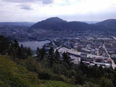 To też Bergen z góry