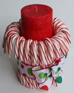 Christmas Centerpiece an easy gift to make too!