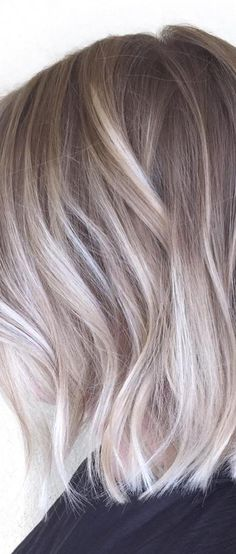 Blonde Hair With Roots, Dark Blonde Hair Color, Ash Brown Hair Balayage, Hair Color Balayage, Hair Color For Women, Hair Color And Cut, Biolage Hair, Hair Colour Design, Hot Hair Colors
