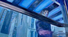 "Saatchi Art Artist Wojtek Herman; Painting, ""Before entering"" #art"