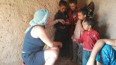 Visita a los nómadas del Sahara con un grupo de los españoles en agosto 2015. #ninos#sahara#tours #viajes#desierto#marruecos #nómadas #marrakech