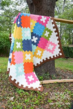Turkish Delight quilt pattern - Derek's knick name! I guess that means I'll have to make it for him at some point!