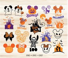 Disney Halloween Decorations, Mickey Halloween, Halloween Diy, Happy Halloween, Disney Cartoon Characters, Disney Cartoons, Disney Mickey, Disney Printables, Fun Cup
