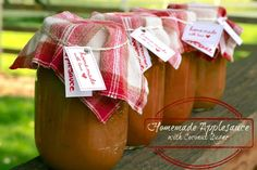 Homemade Applesauce with Coconut Sugar - The Paleo Mama #paleo