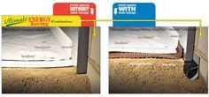 Crawl space encapsulation with rigid foam insulation