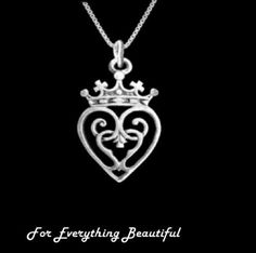 Queen Mary Design Luckenbooth Medium Sterling Silver Pendant