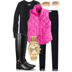 Hot pink, cream and black monogrammed quilted vests here: https://m.facebook.com/pages/Perfectly-Jane-monogrammed-gifts-jewelry-accessories/138487636335410?id=138487636335410&refsrc=https%3A%2F%2Fwww.facebook.com%2Fpages%2FPerfectly-Jane-monogrammed-gifts-jewelry-accessories%2F138487636335410