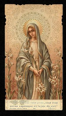 We have in heaven the heart of a mother,  The Virgin, our Mother,  who at the foot of the Cross  suffered as much as possible  for a human creature,  understands our troubles and consoles us.        Saint Leopold Bogdan Mandic