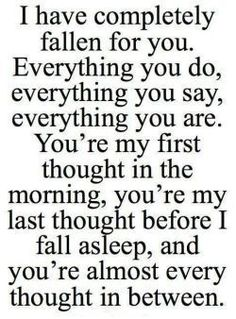 50 Cute Love Quotes for Her that puts voice to your deepest feelings – Quotes Love Quotes For Her, My Everything Quotes, Romantic Quotes For Her, Falling In Love Quotes, Soulmate Love Quotes, Love Quotes For Girlfriend, Relationship Quotes For Him, Life Quotes Love, Inspirational Quotes About Love