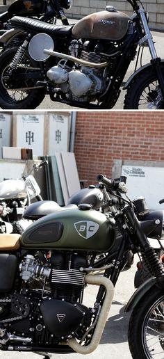 British Customs & Cafe Racer Magazine Bike Show