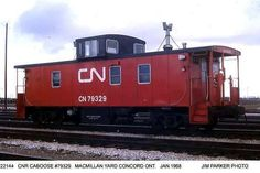 Old Canadian Cabooses