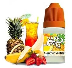 A sweet and refreshing vape with hints of coconut, pineapple, strawberry, banana and a little rum blended throughout.