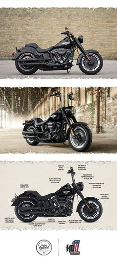 Born to be wild. Built to go the distance.   2016 Harley-Davidson Fat Boy S