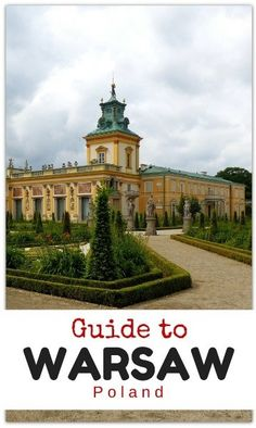 Our Guide to What to Do in Warsaw!