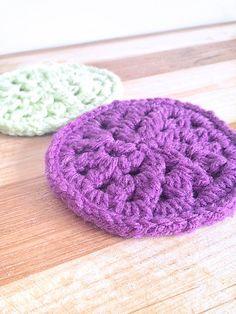 easy crochet coaster pattern