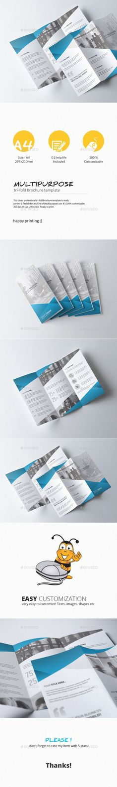 Tri-Fold Brochure - Multipurpose