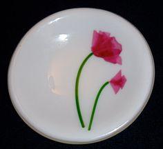 Lovely fused glass dish! ARTIST: Meg Clarke
