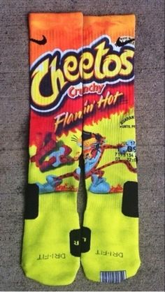 But if someone bought you these socks, you would marry them instantly. | 23 Symptoms Of Being Hopelessly Addicted To Flamin' Hot Cheetos