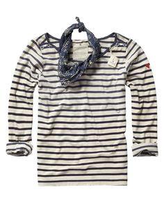 comfy / breton striped sweater / scotch & soda
