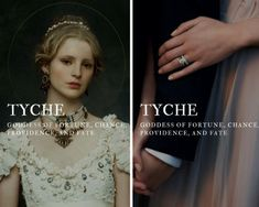 tyche - greek goddess of fortune, chance, providence, and fate