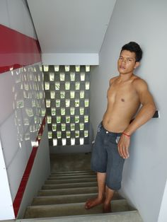 "cute boy at MEN's Resort & Spa the only ""gay exclusive"" resort in Cambodia - gay hotel gay spa/sauna massage swimming-pool gym  www.mens-resort.com"
