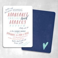 Wink  Wedding Invitations