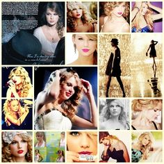 Taylor Swift Collage---Cool!  thanks to the creator!
