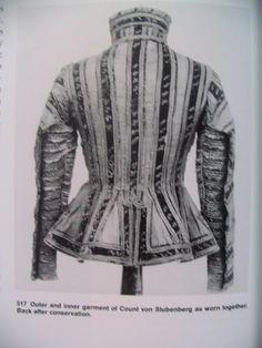 "Abegg Foundation: ""Textile Conservation and Research"": 'Doublet of Count Friedrich von Stubenberg' Doublet, 16th Century, Count, Textiles, Product Description, Tops, Women, Fashion, Moda"