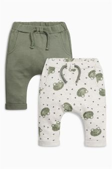 Frog Joggers Two Pack (0mths-2yrs)