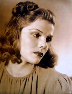 """got30s: """" Linda Hayes (née Rachelle Mendenhall), 1939 """""""