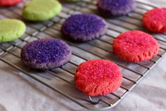 These Jell-O Cookies sure are pretty and they are pretty delicious too! They make a fun dessert for kids (but adults will love them too!).