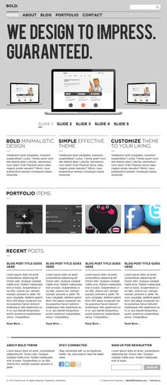 Bold #Homepage #PSD, #Free, #Resource, #Template, #Web #Design