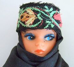 ARABIC Muslim Doll Vintage Toy Wearing National by ByMyGoods, $19.00