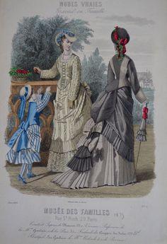 Modes Vraies Musée des Familles 1875